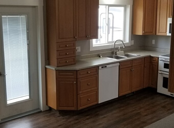a picture of a kitchen